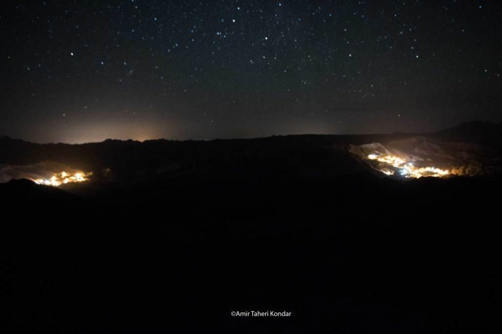 شب های کندر - دهمیان و گرماهی در یک نما