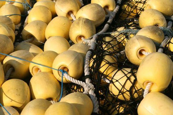 bouées jaunes