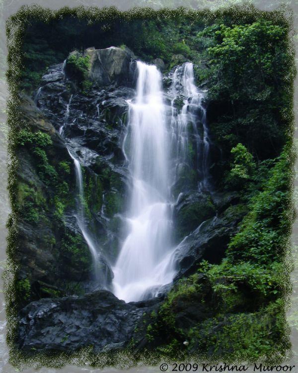 Vibhuti Falls in Mattighatta, Sirsi