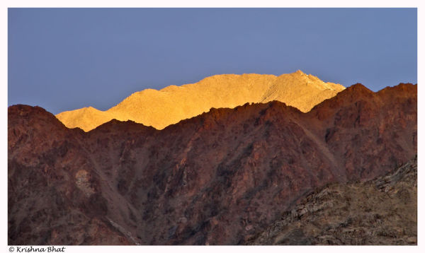 Sunrise in Leh, Ldhak