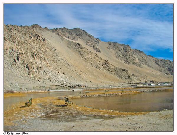Lake in Leh, Ladhak