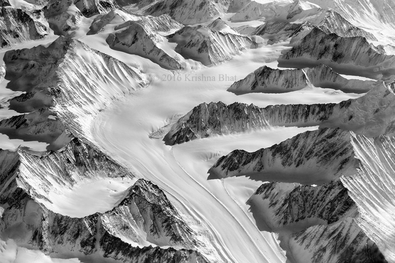 Molten Snow Path