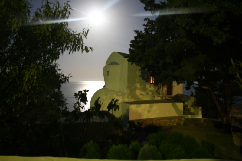 Kalymnos, Plati Gialos, August, Full Moon