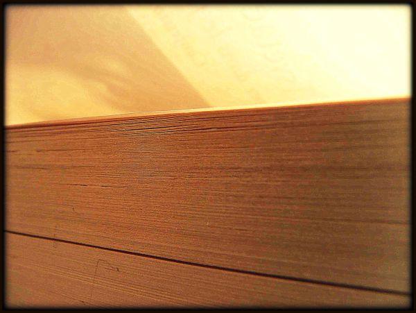 Marina sous la couverture (... de son livre) *
