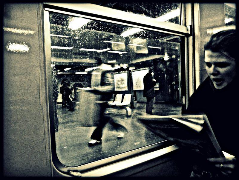 Bâilleuse de train-train