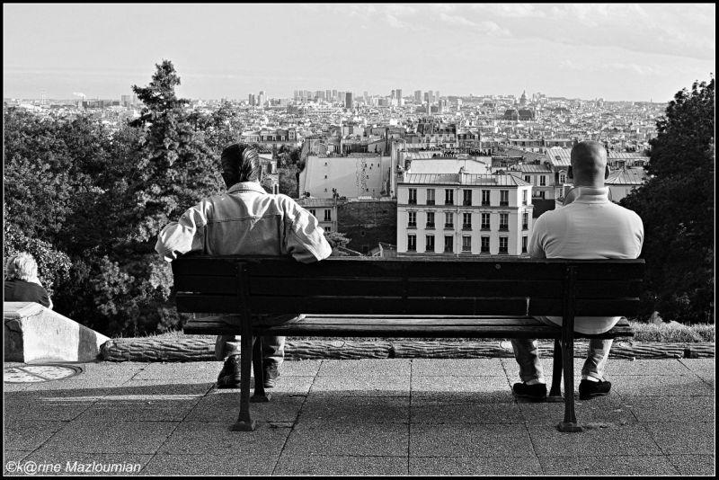 Gomina & Boulazero se font la gueule à Montmartre