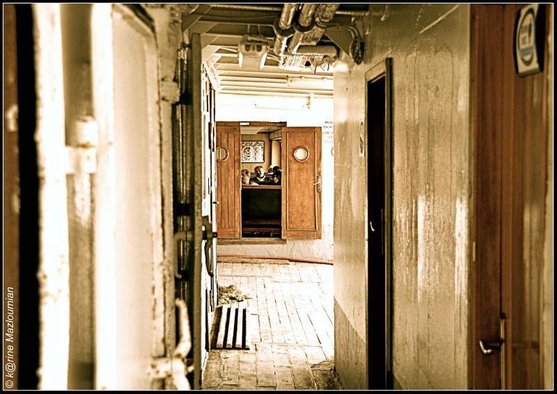 Ouvrir la porte ouverte