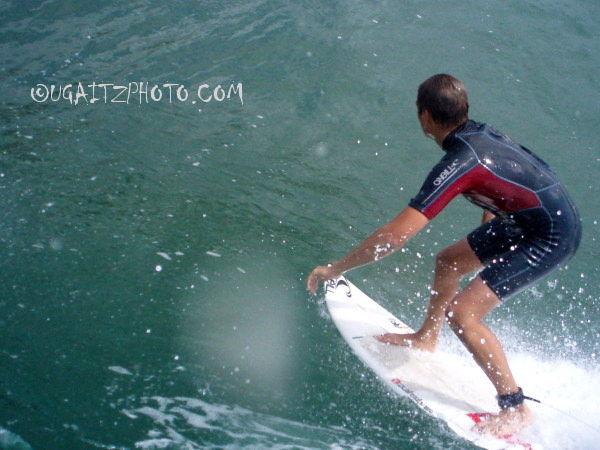 Surfing por la espalda