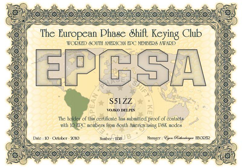 PSK award
