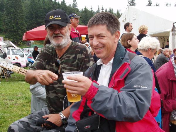 Me and Matjaz Kope 06.08.2011 1000 m ASL