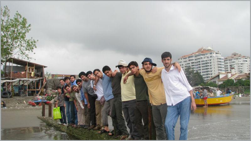 اردوی کلاردشت دوره 28 دبیرستان مفید 1