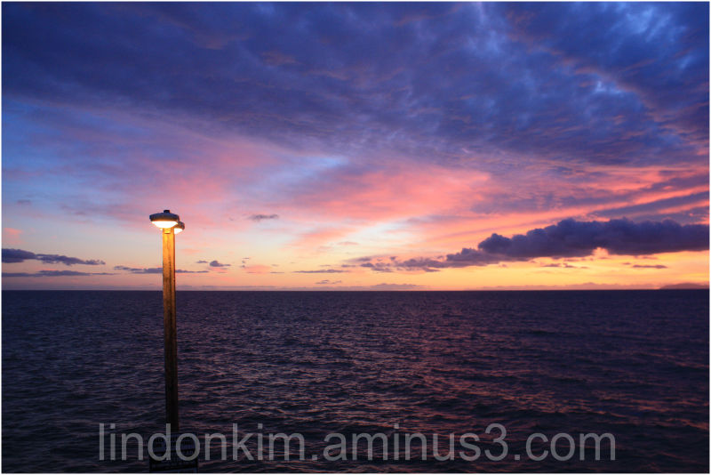 Sunset @ 1 Newport Pier