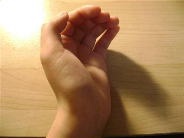 Hand half my heart
