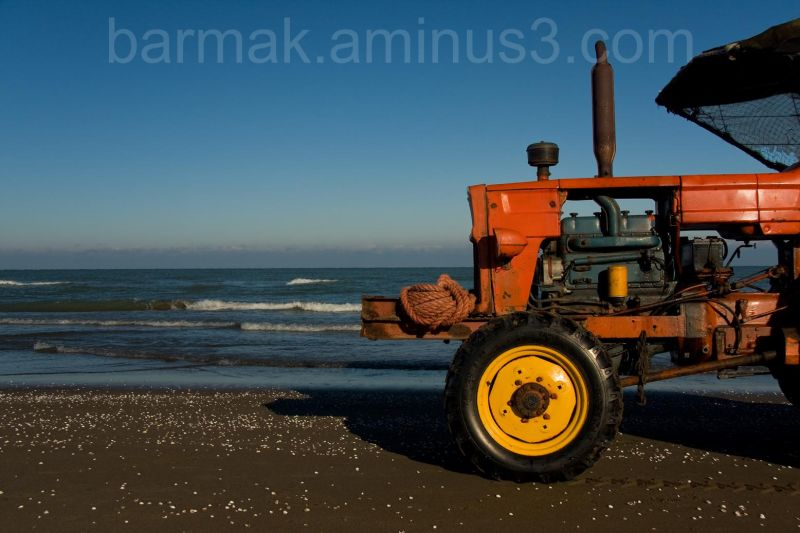 Where the Tractor Meet the Sea