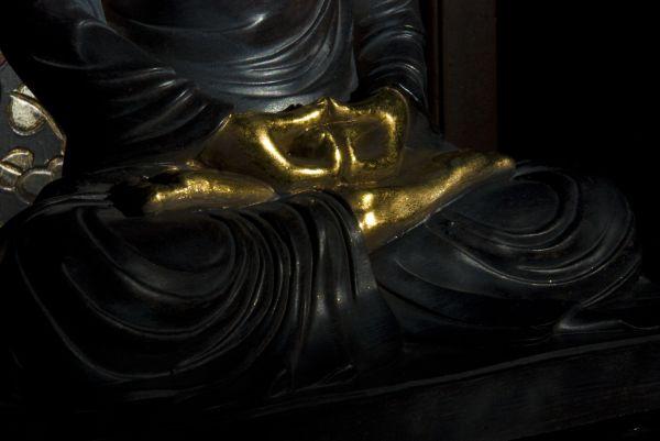 buddha hands peace