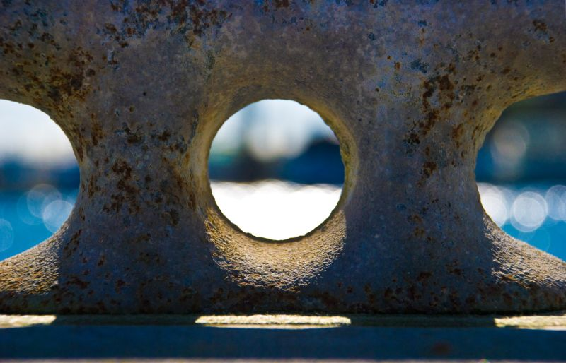 mooring bollard dock
