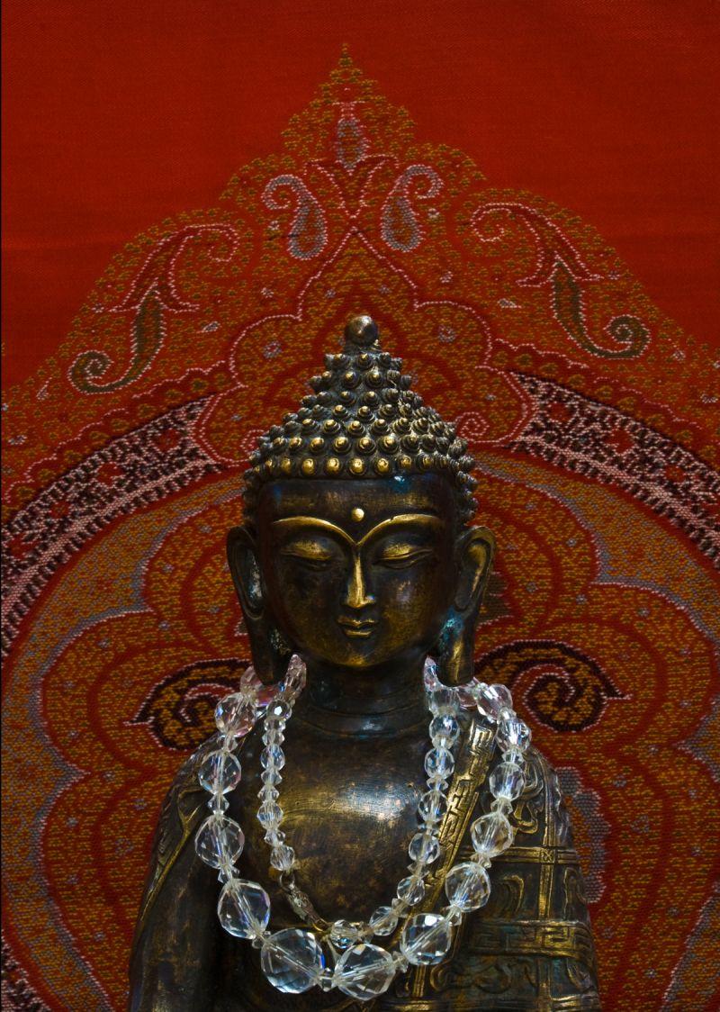 buddha paisley