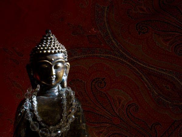 paisley buddha