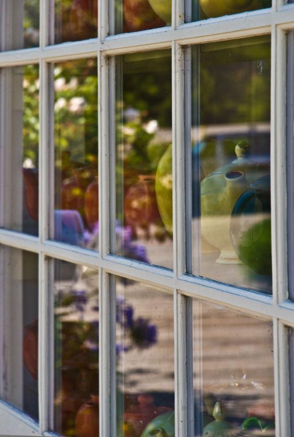 tea shop window