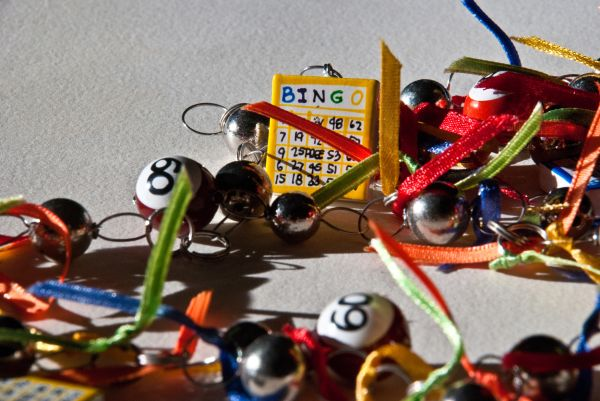 grandma lucky bingo necklace