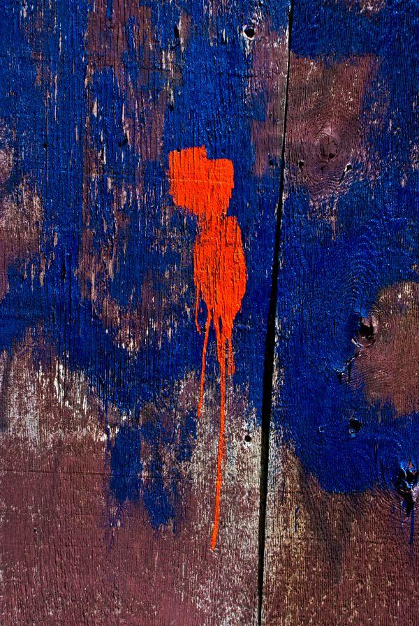 barndoor red blue