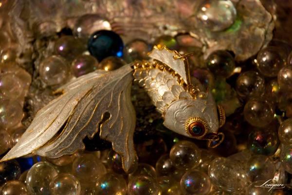 cloisonne fish