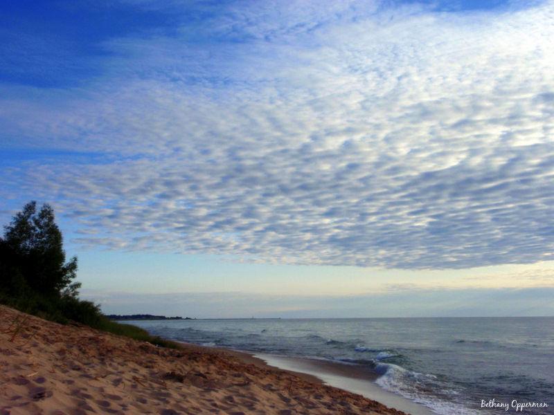 Lake Michigan Sunset & Clouds