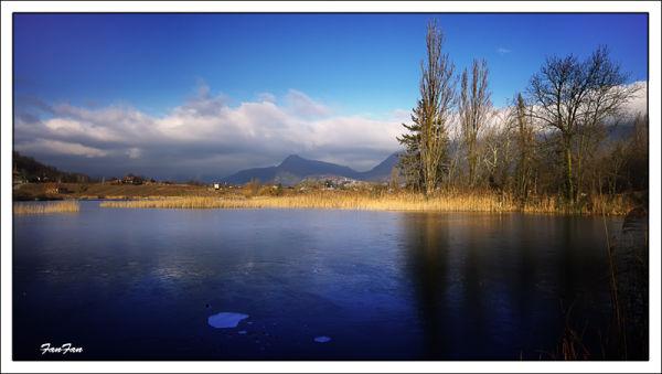 le lac saint-andré près de Chambéry
