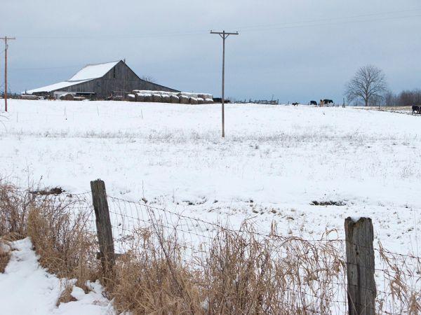 Barn landscape photo
