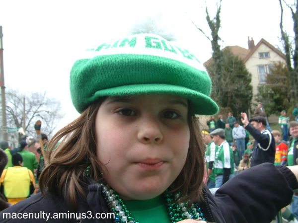 Lizzy at the parade