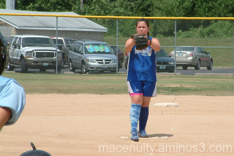 Katy pitching in the 2007 All Star game