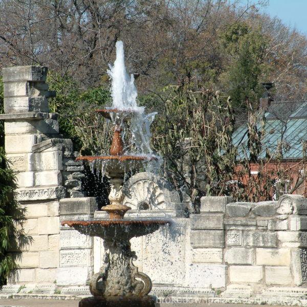 TG Park fountain