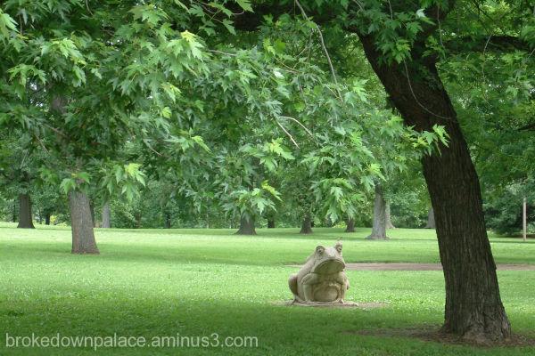 Lafayette park sculpture