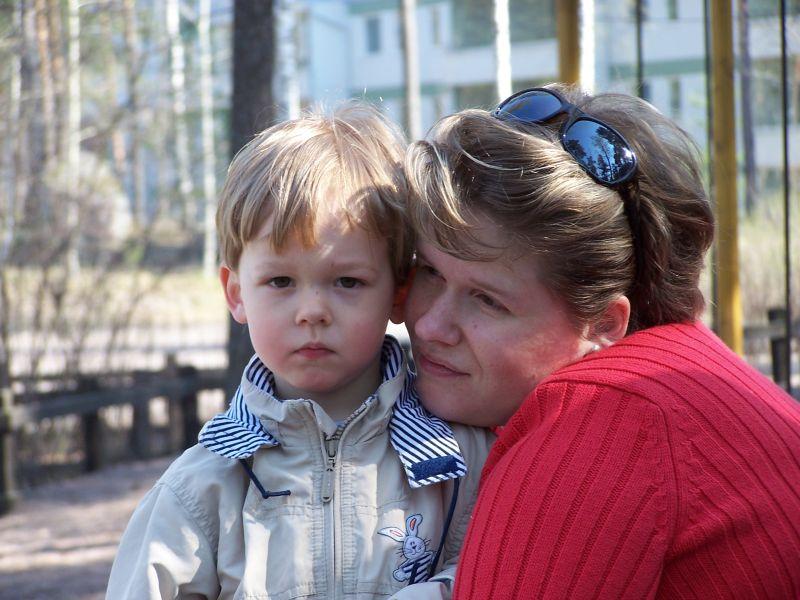 Daniel ja äiti