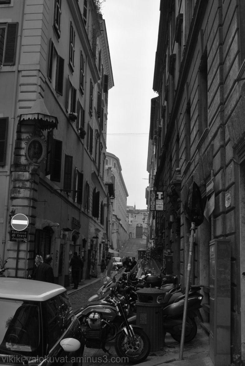 Une rue à Rome...