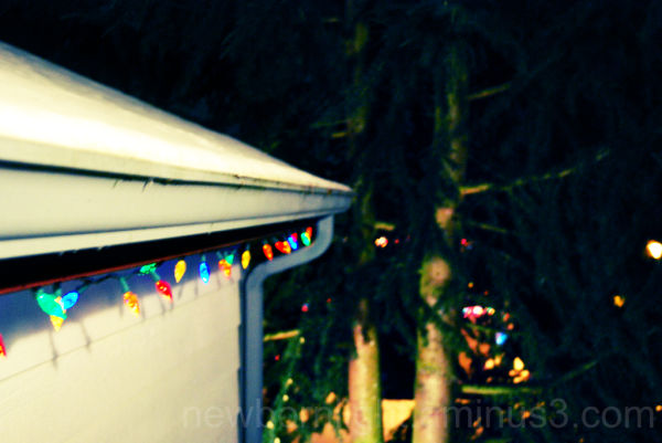 Holiday with lights