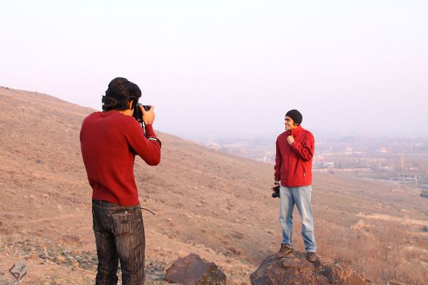 photographer hunting