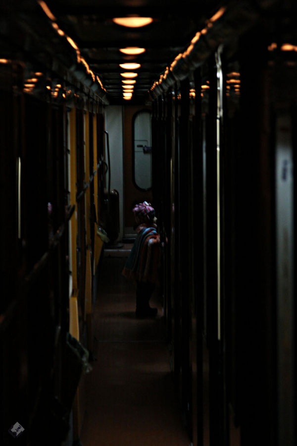 the lady in train 1
