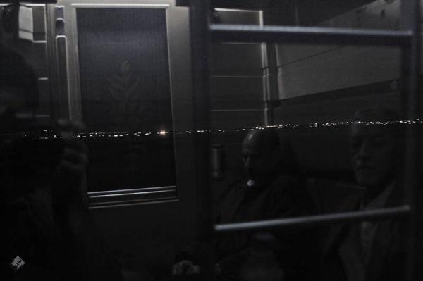 me train  night window