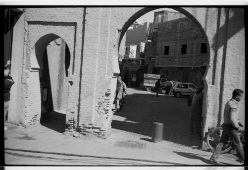 A Glance At The Souk Entrance