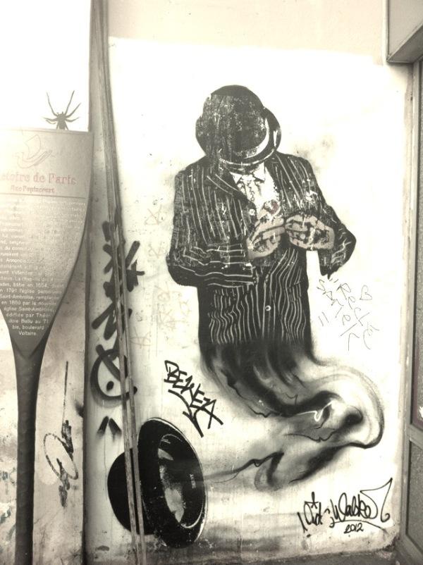 Paris' graffiti