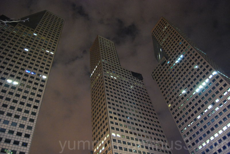 Singapore Suntec City Tower Night