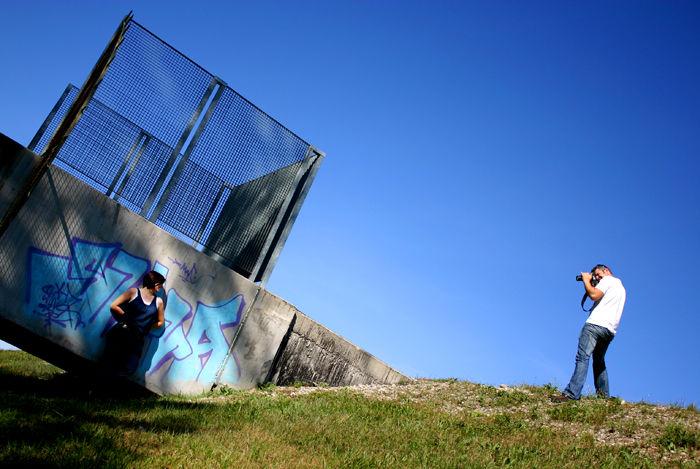 A l'ombre des graffitis
