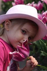 Julie la tulipe !