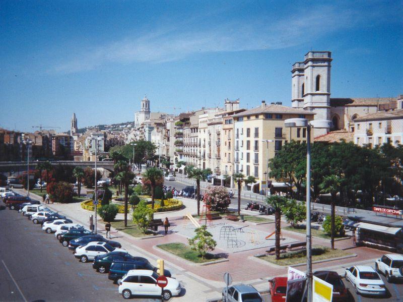Plaça Catalunya de Girona