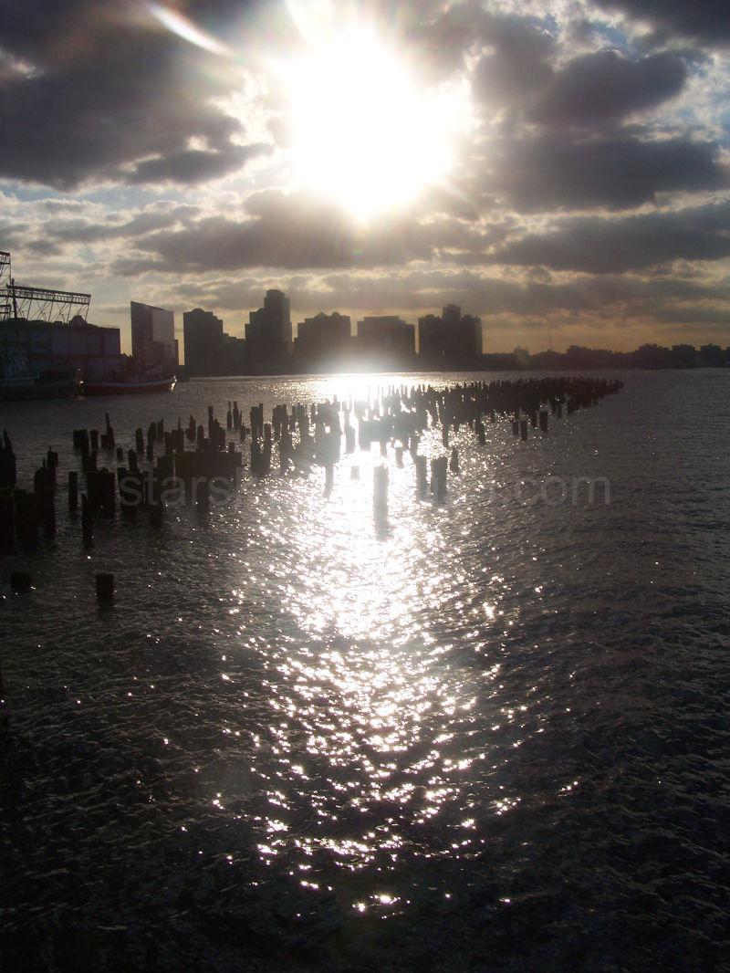 New York City's Hudson Harbor