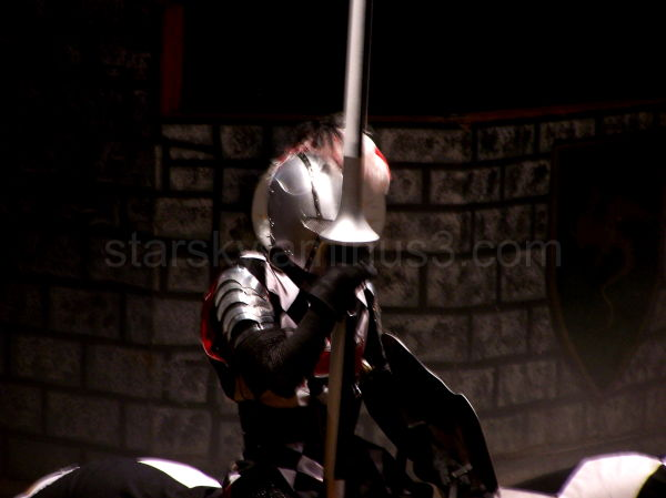 A Knight rides to challenge