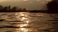 La Loire houleuse et en furie..