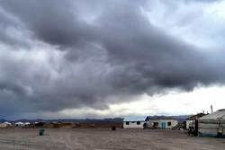 Un village de yourtes à la frontière du Gobi.