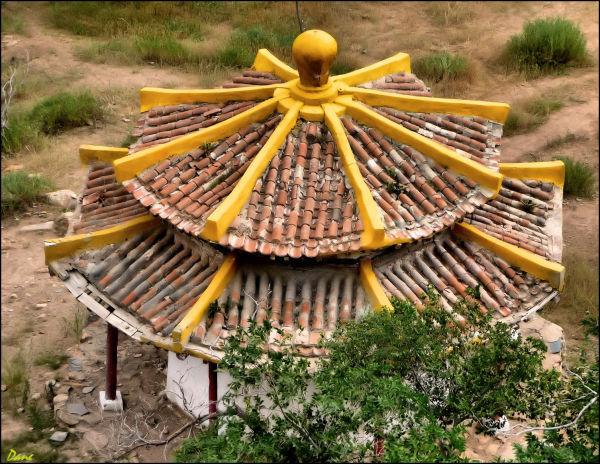 Un temple en Mongolie